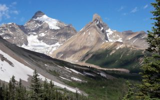 banff np okruh zapadni kanadou