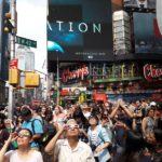 Zatmění Slunce v New Yorku