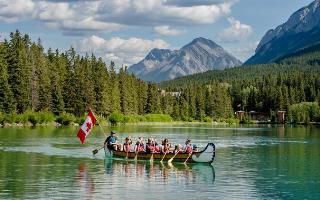 Banff – Voyager kánoe tour