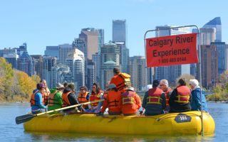 Calgary Rafting Tour