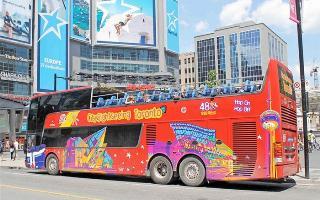 Hop—on-Hop-off okružní jízda Torontem