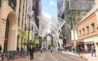 Okružní jízda historickým Calgary
