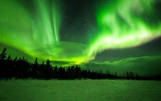Pozorování severní polární záře