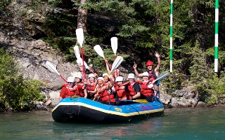 Whitewater Rafting Kananaskis River 2