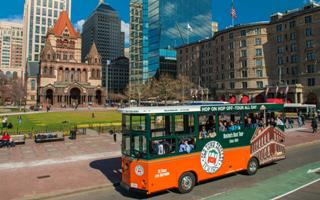 Hop-on-hop-off Trolley Tour