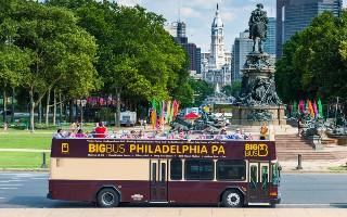 Hop-on-hop-off okružní jízda městem
