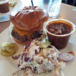 Hamburger na poušti