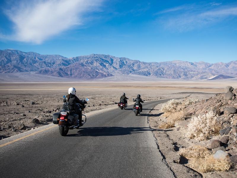 Západ USA v zimě na Harley Davidson - zájezdy do USA na motorce